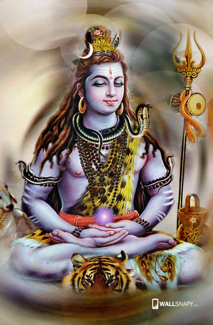 Lord Shiv Hd Wallpaper For Mobile Wallpaper Directory
