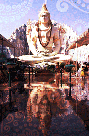 Lord siva statue for mobile wallpaper