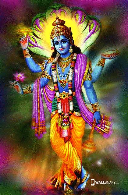 Lord Vishnu Deva Hd Wallpaper Wallsnapy