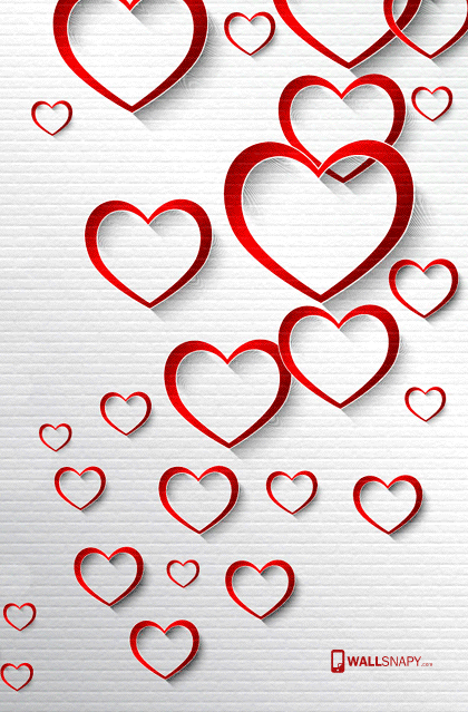 Love Heart Background Hd Image Wallsnapy