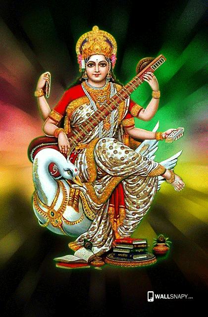 Maa Saraswati Full Hd Wallpaper Goddess Saraswati Maa Saraswati