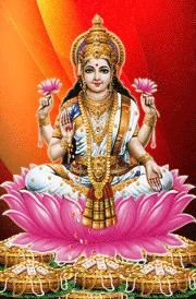 Maha lakshmi lotus