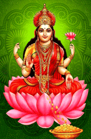 maha-laxmi-with-lotus-hd-wallpaper