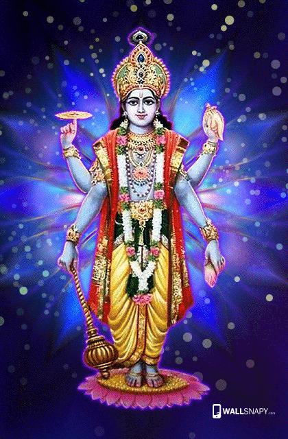 Maha Vishnu Hd Wallpaper For Mobile Wallsnapy
