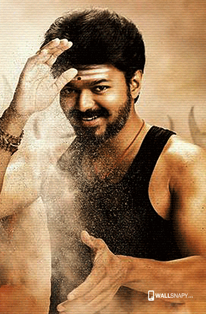 Mersal Vijay Latest Hd Wallpaper Wallsnapy