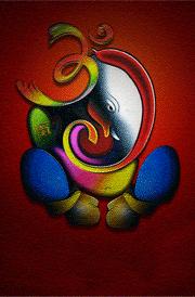 Modern Art Vinayagar Images