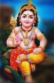 Murugan painting