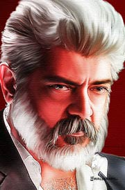 ner-konda-paarvai-ajith-painting-images