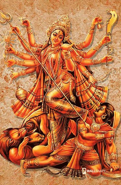 New Hd Wallpaper For Maa Durga Wallsnapy
