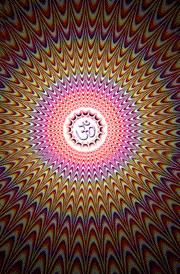 om-illusion-hd-wallpaper