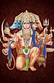 Panjamuga hanuman