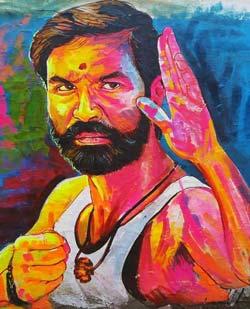pattas-dhanush-painting-images-download