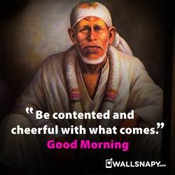 Sai Baba Good Morning Quotes Wishes Dp Images Wallsnapy