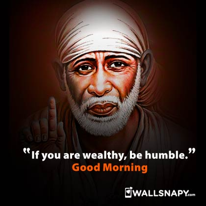 Sai Baba Good Morning Quotes Dp Images Wallsnapy