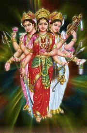 Sakthi saraswathi mahalakshmi