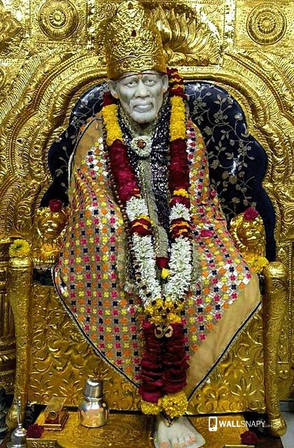 Hindu God Shirdi Saibaba Hd Wallpaper Sai Baba Hd Wallpaper For Android Primium Mobile