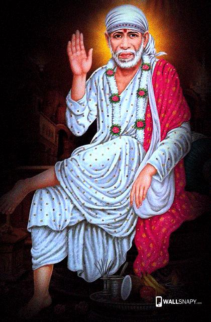Shirdi Sai Baba Hd Wallpaper For Mobile Wallsnapy