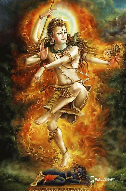 shiva angry dance hd image primium mobile wallpapers