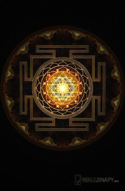 Shree chakra wallpaper for mobile - Wallsnapy