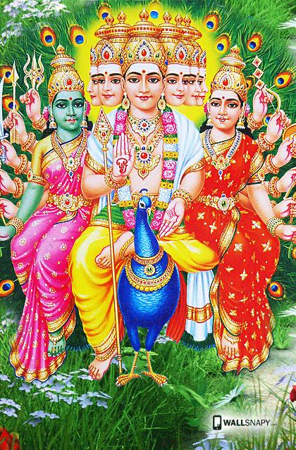 Six face murugan peacock hd image | Primium mobile
