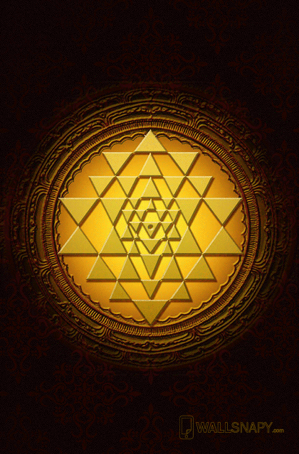Sri yantra poster - Wallsnapy