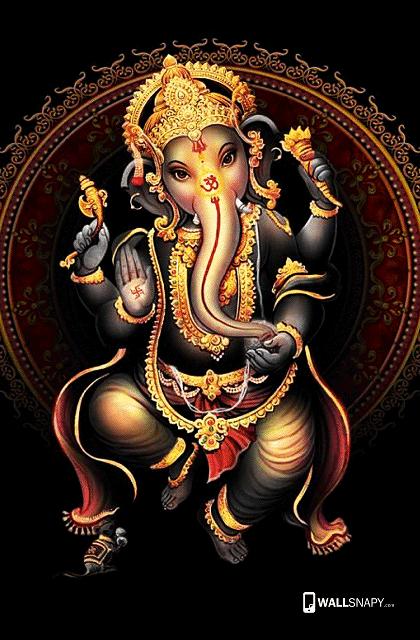 Standing Vinayagar Hd Wallpaper For Mobile Wallsnapy Com