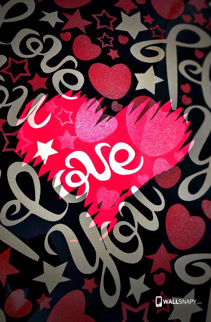 Stylish Love Wallpaper Home
