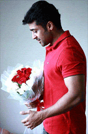 surya-with-flower-hd-images