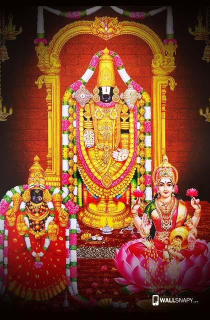 Tirupati Balaji Mahalakshmin Alamelumangai Hd Wallpapers Wallsnapycom