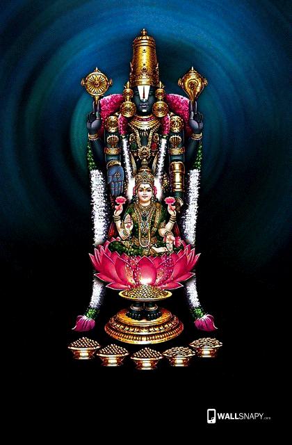 Tirupati Balaji With Mahalakshmi Hd Wallpaper Wallsnapycom