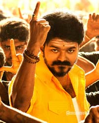 vijay-mersal-yellow-dress-images