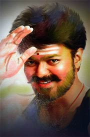 vijay-oil-painting-mersal-images