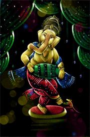 vinayagar-dancing-hd-painting