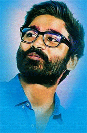 vip2-dhanush-hd-painting