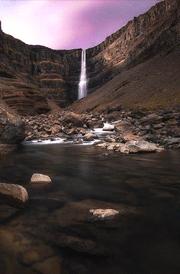 water-falsh-purple-mountain-hd-wallpaper