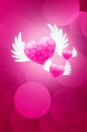 wings-with-hearten-hd-wallpaper