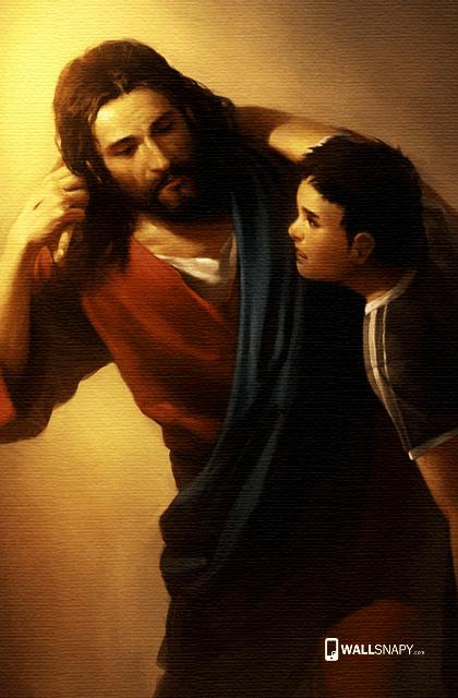 Jesus Hd Wallpaper For Mobile Wallsnapy