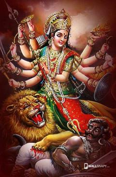 Jai Maa Durga Hd Wallpapers For Mobile Wallsnapy
