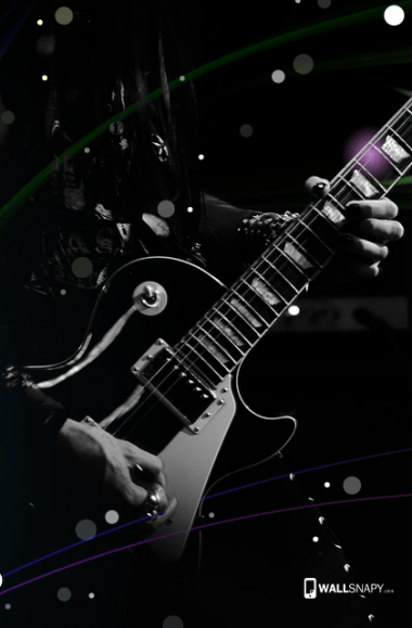 Lovely Guitar Music Hd Wallpaper Mobile Wallsnapy