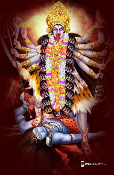 Maa Kali Angry Hd Images Wallsnapy